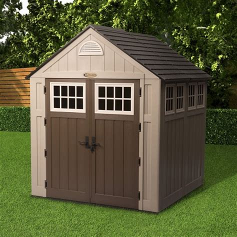 storage shed taupe suncast target