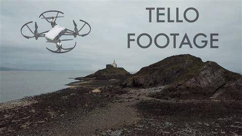 dji tello drone actual footage youtube