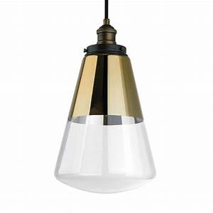 Feiss waveform light painted aged brass dark weathered zinc pendant p pagb dwz the home