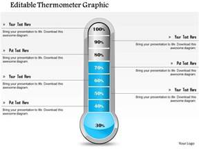 Study Excel Template 1114 Editable Thermometer Graphic Powerpoint Presentation Templates Powerpoint Presentation