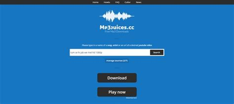 You can access millions of your favorite songs by searching by their title or their artists and albums. Mp3 juice: Best free MP3 downloads site   Mp3 download sites, Free mp3 music download, Mp3 music ...