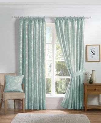 anais ready  lined curtains duckegg  delightful