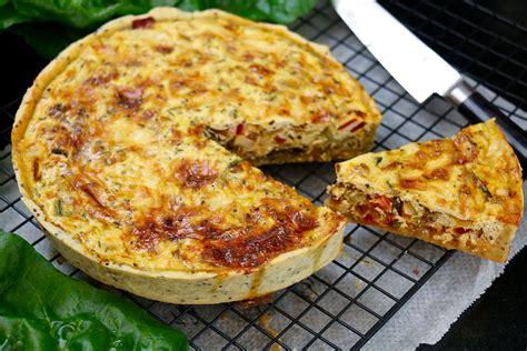 recette de cuisine vegetarienne tarte végétarienne aux légumes hervecuisine com