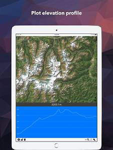 Elevation - Height above Sea Level, Altitude Map - appPicker