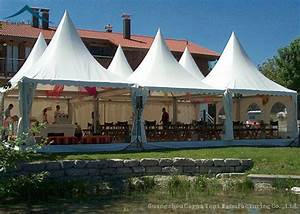 Tentes européennes de chapiteau de pagoda de style, tente ...