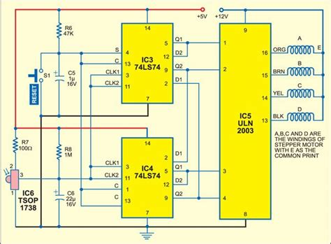 Wireless Stepper Motor Controller Full Project Available