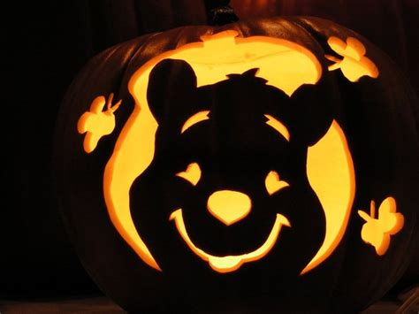 Winnie The Pooh Pumpkin Carving Templates by 25 Best Ideas About Cool Pumpkin Carving On