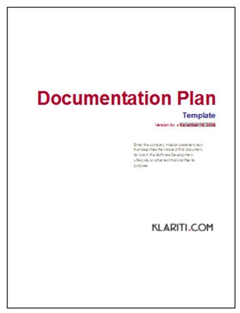 documentation plan   write  software documentation