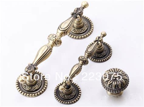 luxury cabinet hardware 96mm zinc alloy bronze knobs decorative kitchen cabinet