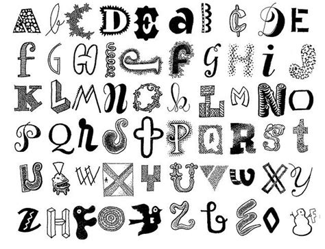 cool ways to write letters way to write letters drawing exles 28907
