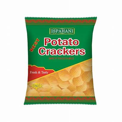 Potato Crackers Spicy Vegetable Gm Chips Ispahani