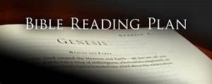 Bible Reading Plan  U2013 University Baptist Church