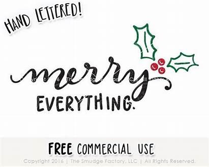 Merry Everything Printable