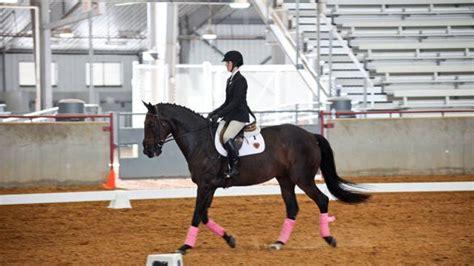 texas  equestrian team wins  meet   season