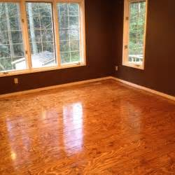 plywood floor turned out great for the home