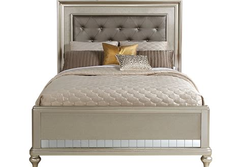 sofia vergara paris silver 3 pc king bed beds colors