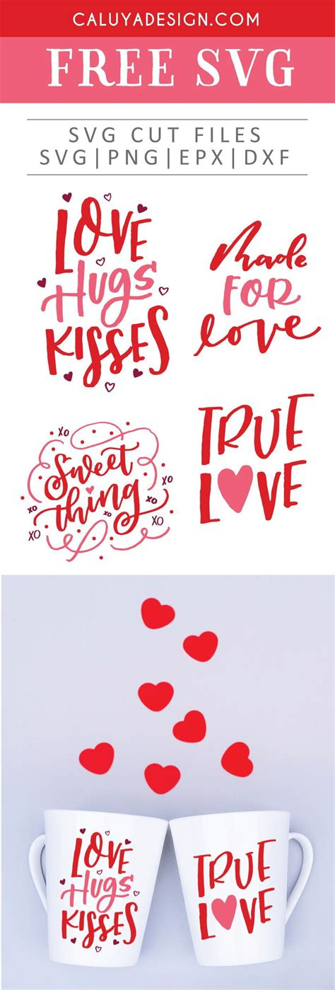 Browse the stickers menu for images to add to any page. Free Valentine's Day Bundle SVG, PNG, EPS & DXF by ...