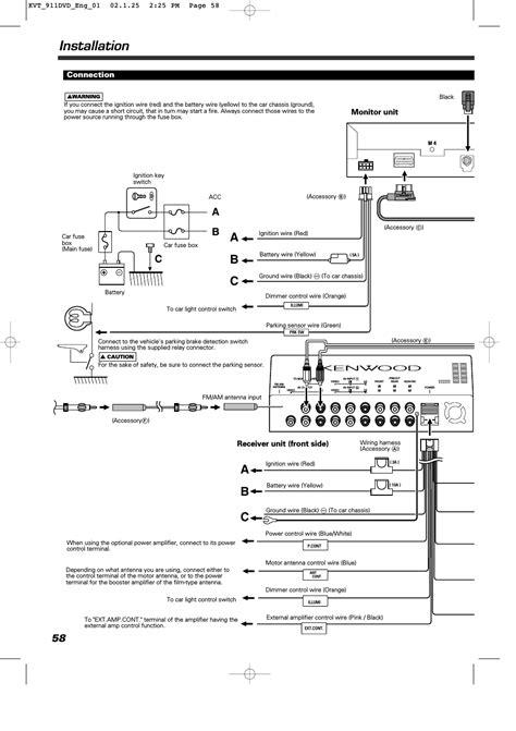 Kenwood Kvt Dvd Wiring Diagram