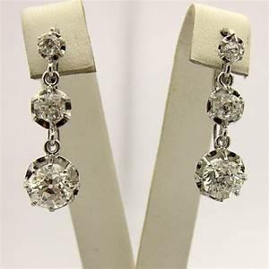 Bijoux Anciens Occasion : expertise de bijoux boucles d oreilles anciennes or platine diamants 113 bijoux anciens ~ Maxctalentgroup.com Avis de Voitures