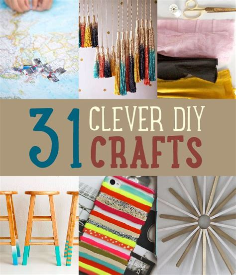 dyi crafts 31 clever diy crafts