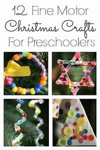 12 Fine Motor Christmas Ornaments