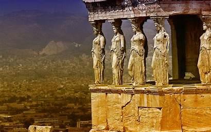 Greek Ancient Greece Architecture Wallpapers Amazing Desktop
