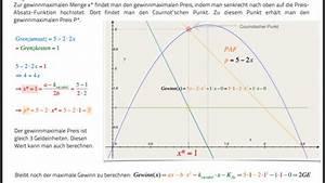 Grenzkosten Berechnen : preisabsatzfunktion von monopolist berechnen mathelounge ~ Themetempest.com Abrechnung