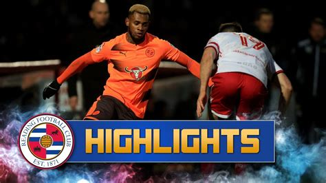 Highlights: Stevenage 0-0 Reading (Emirates FA Cup, third ...