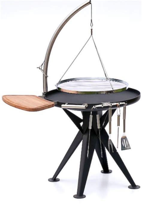 edelstahl grill holzkohle nielsen holzkohle grill 80cm inkl edelstahl rost und schwenkarm eisenbams grill shop
