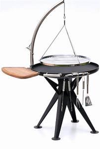 Feuerschale 120 Cm : nielsen holzkohle grill 80cm inkl edelstahl rost und schwenkarm eisenbams online grill shop ~ Orissabook.com Haus und Dekorationen