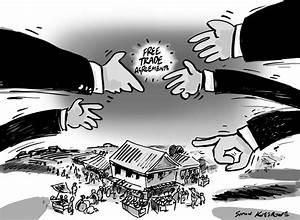 free trade agreement | Simon Kneebone - cartoonist and ...