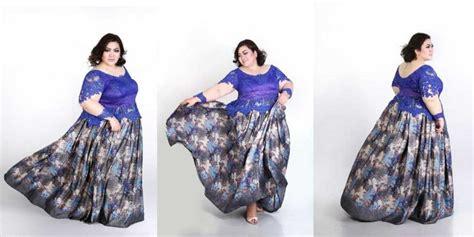 contoh batik kebaya wisuda  wanita kurus  gemuk