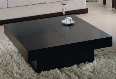 nile coffee table  beverly hills  wenge  storage