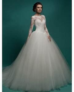 vestidos de novia long sleeve ball gown wedding dresses With ball gown wedding dresses 2016