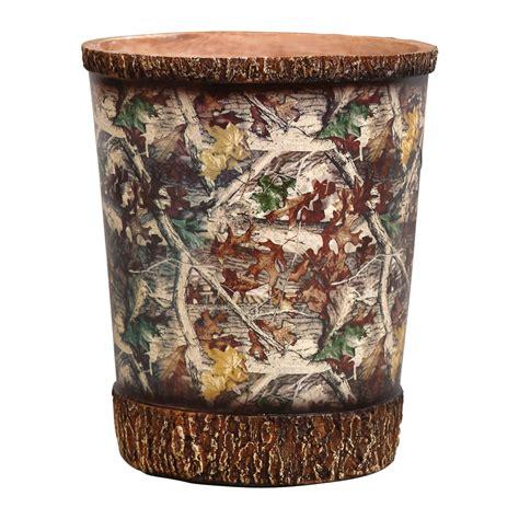 camo bath accessories camouflage waste basket camo trading