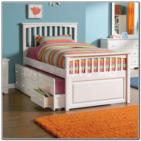 full size trundle bed with storage size trundle bed with storage drawers beds home 20509
