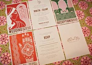modern vintage indian wedding invitations by With modern indian wedding invitations wordings