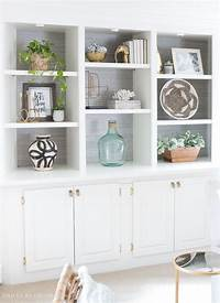 bookshelf decorating ideas How to Decorate Shelves & Bookcases: Simple Formulas That ...
