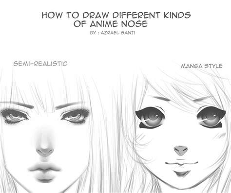 kinds  anime nose  azrael santi azrael