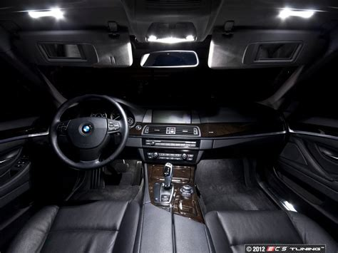 ecs news bmw   series led interior lighting kit