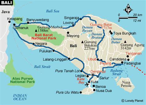 Carte Du Monde Voir Bali by Bali
