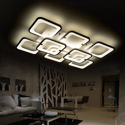 Led Lights For Room With Remote by Remote Led Ceiling Light Luminarias Living Room