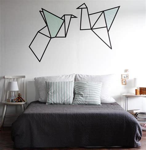 decoration murale chambre décoration murale avec masking en 25 idées fantastiques