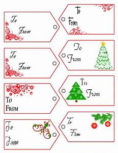 gift tag templates With how to print on gift tags