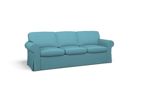 ektorp sofa bed cover 3 seat ektorp three seat sofa bed cover turquoise by
