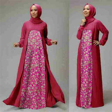 baju setelan gamis muslim terbaru dan modern