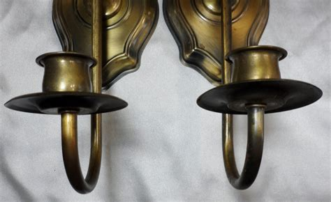 Home Interior Metal Candle Holders : Vtg Homco Home Interior Colonial Early American Candle