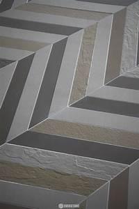 Durastone, Chevron, Steel, Grey, 346x120x10, Matt, Tile