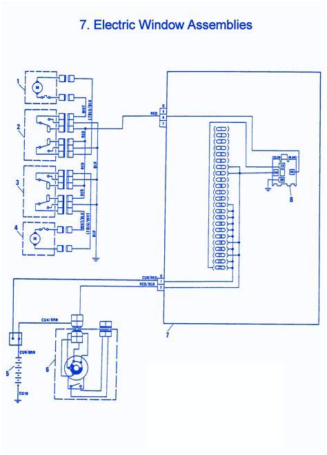 Bmw X1 Wiring Schematic by Fiat X1 9 1981 Electric Window Electrical Circuit Wiring