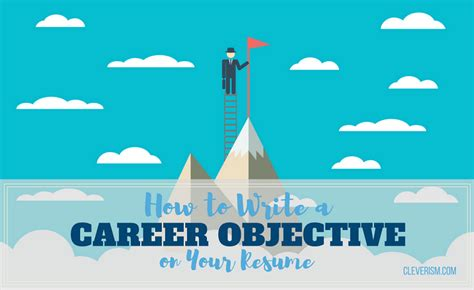 What To Write As An Objective On A Resume by How To Write A Career Objective On Your Resume